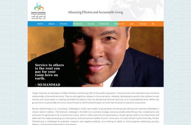 World Congress of Muslim Philanthropist_homepage