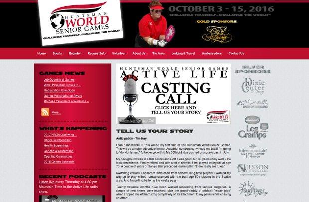Senior Games_homepage