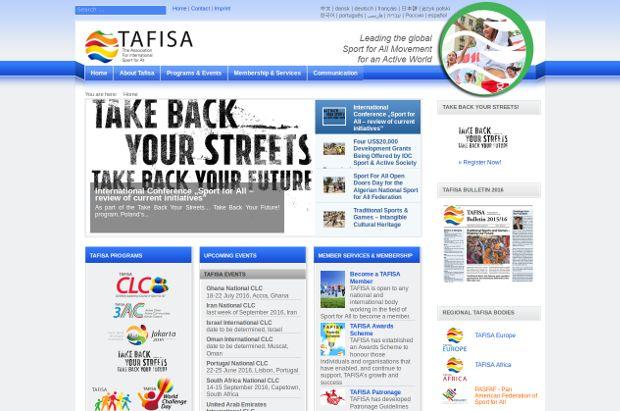 Tafisa_homepage