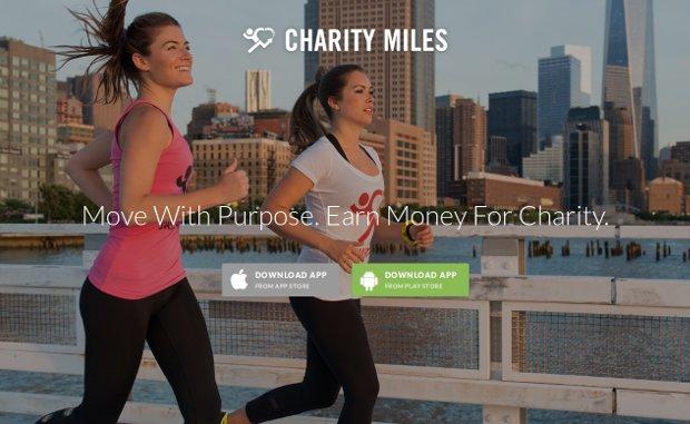 Charity Miles_homepage
