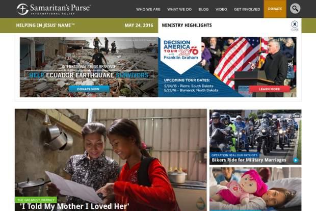 Samaritan's Purse_homepage