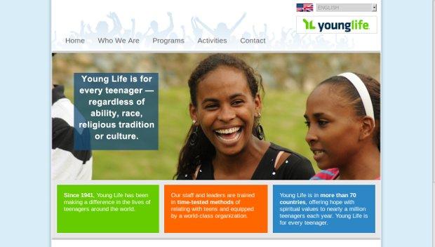Young Life_homepage