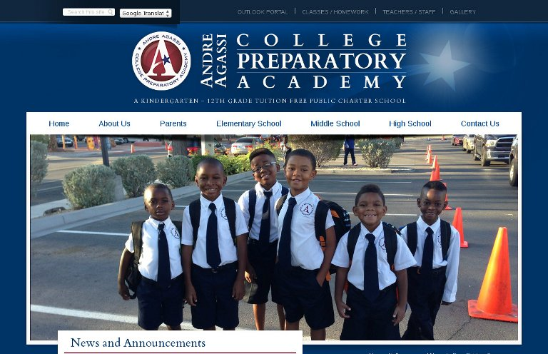 Andre Agassi College Preparatory Academy