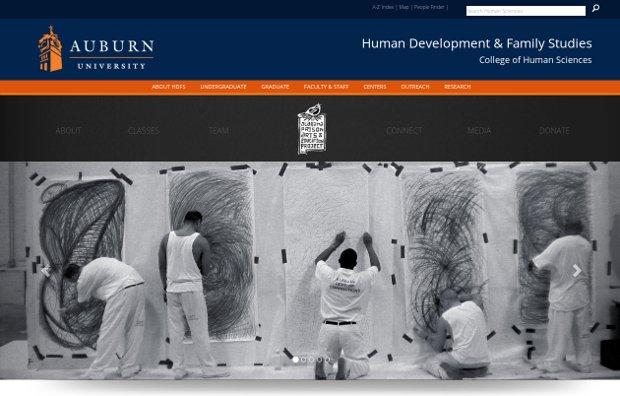 Auburn University College of Human Sciences_homepage