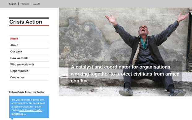 Crisis Action_homepage