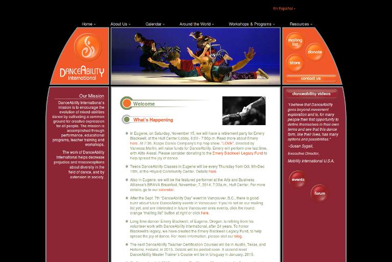 DanceAbility International Website