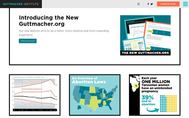 Guttmacher Institute_website