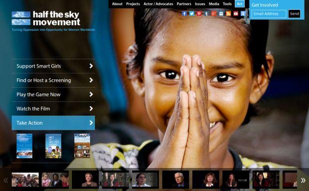 Half the Sky_homepage