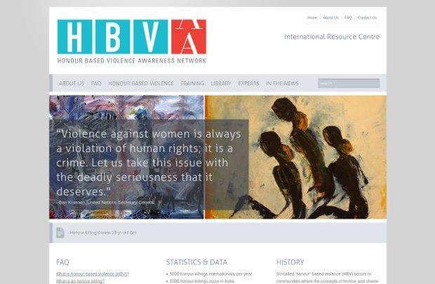 International Honour Based Violence Resource Centre_website