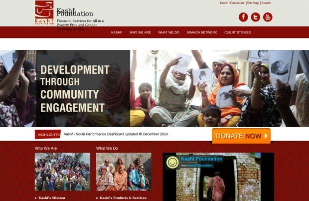 Kashf Foundation_homepage