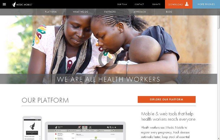 Medic Mobile_website