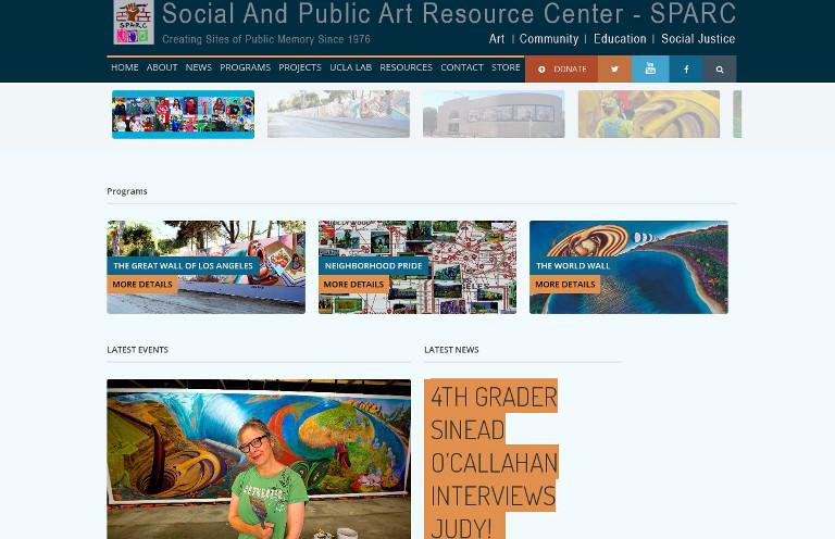 SPARCinLA - website