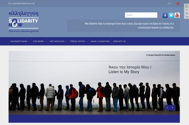 Solidarity Now_Homepage