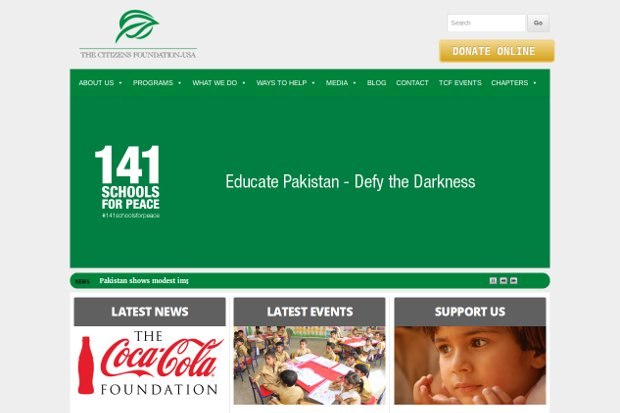 The Citizens Foundation_homepage