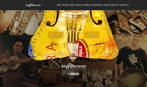 The Landfillharmonic_homepage