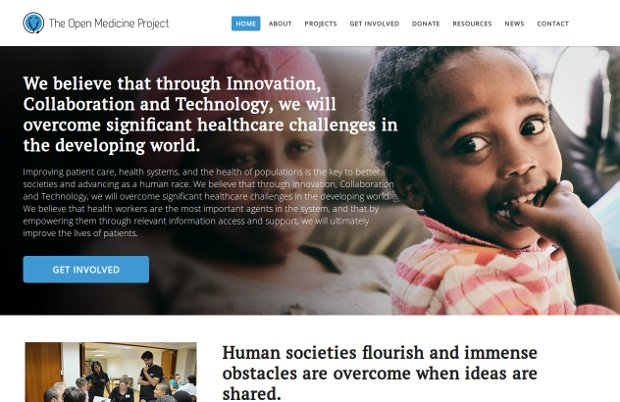 The Open Medicine Project_website