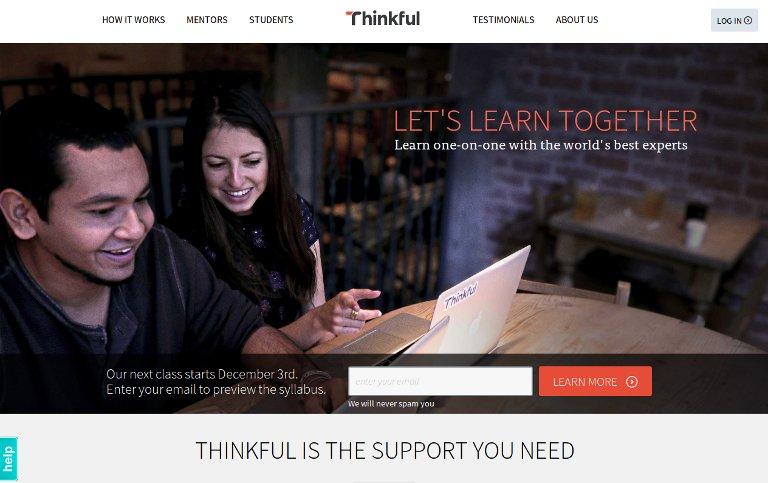 Thinkful_website