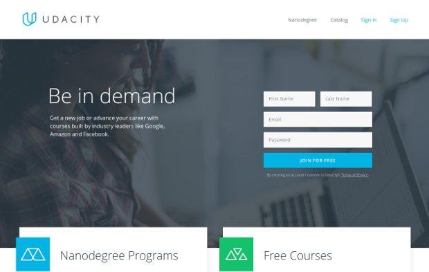 Udacity_homepage