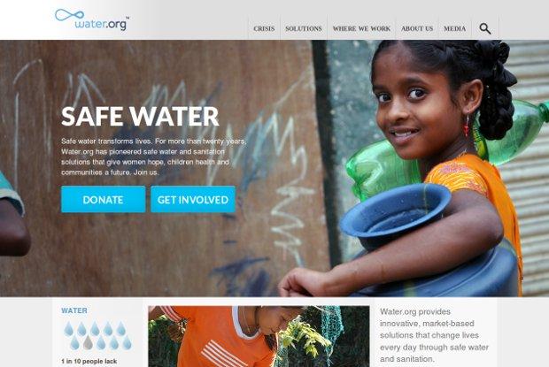 Water org_homepage