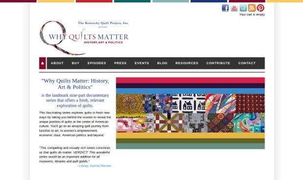 Why Quilts Matter: History, Art & Politics_homepage