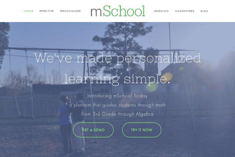 mSchool_website